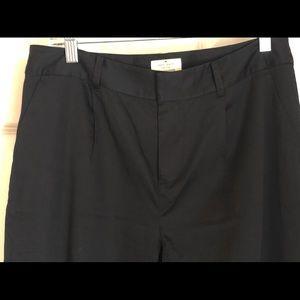 REDUCED Authentic Kate Spade Pants Black Sz 8
